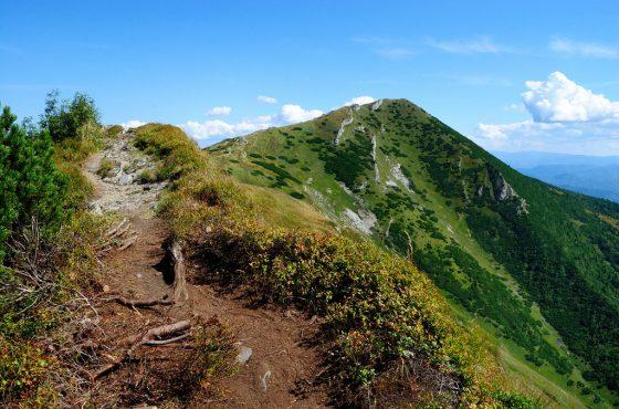 Výstup na Velký Kriváň přes vrcholy Sokolie, Baraniarky a Kraviarske