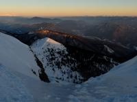 Západ slunce na Chlebu