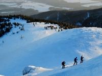 Chleb je oblíbeným cílem i pro skialpinisty