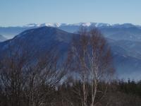 Nízké Tatry, v popředí Kopa (1187 m)