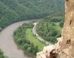 Část Domašínského meandru ze Starého hradu