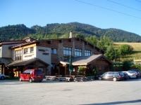 Výchozí místo túr do Jánošíkovych dier - Hotel Diery