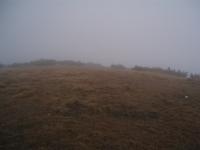 Výhled ze Stohu východním směrem - ne vždy je na co koukat :)