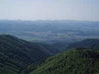 Sučianska dolina s obcí Sučany, v pozadí Velká Fatra