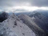 Žitné a Kraviarske z vrcholu Baraniarky