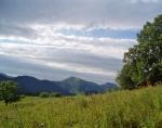 Část hřebene Kriváňské Malé Fatry s vrcholy Stoh a Veľký Rozsutec