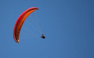 Paragliding v Malé Fatře